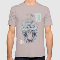 Messi Mens Fitted Tee Cinder SMALL