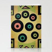 Carpet Pattern Stationery Cards