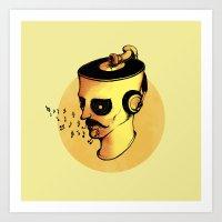 Record Player - ANALOG Z… Art Print