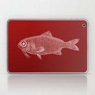 Red Fish Poisson Laptop & iPad Skin