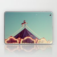 Crescent Moon Over Paris #2 Laptop & iPad Skin