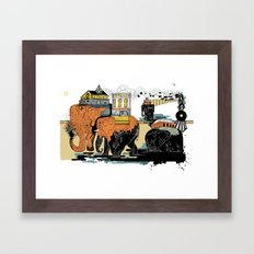 Oiliphants Framed Art Print