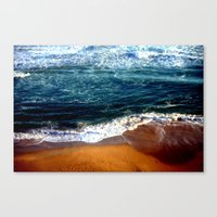 Ocean Swells Canvas Print