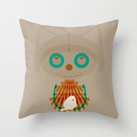 Vugi Throw Pillow