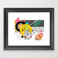 BOX Framed Art Print