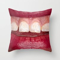 Personal Space 6 Throw Pillow