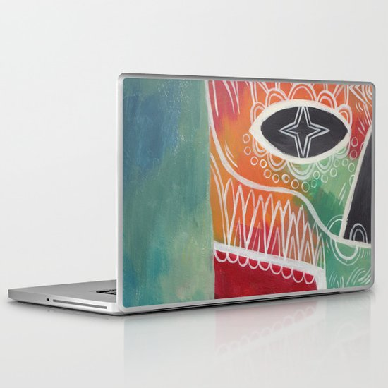Calavera 1 Laptop & iPad Skin