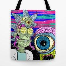 Marty and Rick Tote Bag