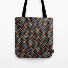 Weave 45 Black Tote Bag