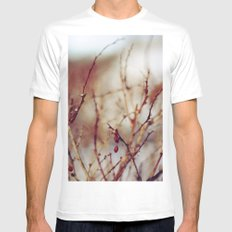 Genesis White SMALL Mens Fitted Tee