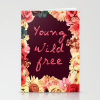 Young, Wild, Free Stationery Cards