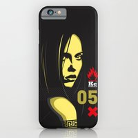 iPhone & iPod Case featuring Fashion Dark Woman by Alberto Angiolin