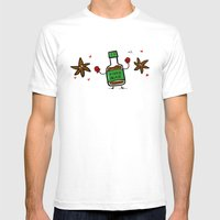 Soy Sauce & Anise Mens Fitted Tee White SMALL