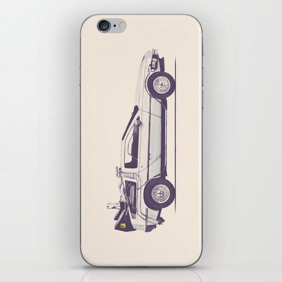 Famous Car #2 - Delorean iPhone & iPod Skin