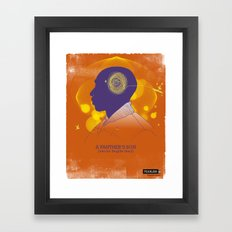 A Panther's Son Framed Art Print