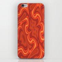 Fiery Fire iPhone & iPod Skin