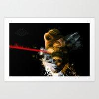 Pagliaccio Art Print