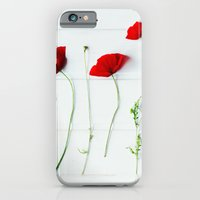 iPhone & iPod Case featuring Poppies. by Julia Dávila-Lampe
