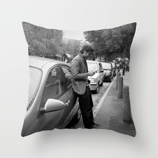 Mattlock Lane  Throw Pillow