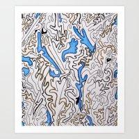 Abstract Pattern #1 Art Print