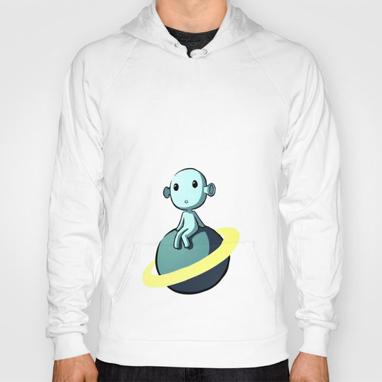 Space Alien Hoody