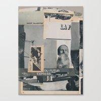 Futur Express Canvas Print