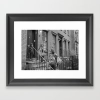 NYC Family  Framed Art Print