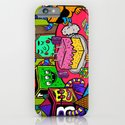 """Block Party"" by Steven Fiche iPhone & iPod Case"