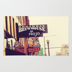 Broadway Brewhouse & Mojo featuring Betty Boots Rug