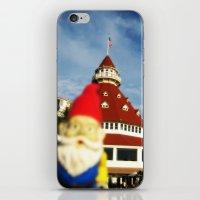 Gnorman visits the Hotel Del Coronado iPhone & iPod Skin