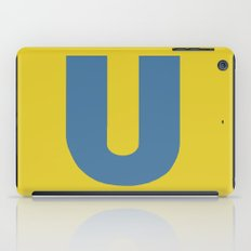 U is for... iPad Case