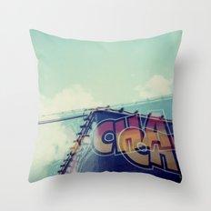 Cha Cha, Polaroid Throw Pillow