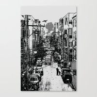 Something In Between Canvas Print