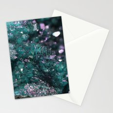 Geode Abstract Aqua Fascination Stationery Cards