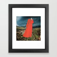 HAUNTING Framed Art Print