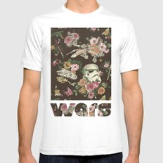 Botanic Wars Mens Fitted Tee White SMALL