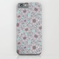 Pastel Sketched Floral iPhone 6 Slim Case