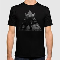 CINH Mens Fitted Tee Black SMALL