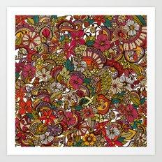 I spy... in colors Art Print