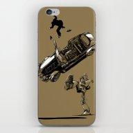 iPhone & iPod Skin featuring Goal! by Mitt Roshin