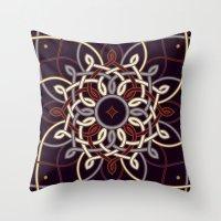 Ostara Tarot II Throw Pillow