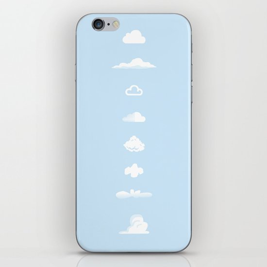 Famous Clouds iPhone & iPod Skin
