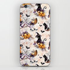 Halloween Witch #2 iPhone & iPod Skin