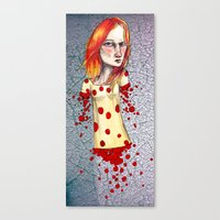 Fiery Haired Canvas Print