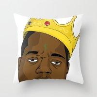 Mo' Money Mo' Problems Throw Pillow