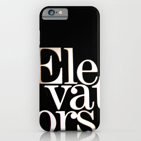 Elevators iPhone & iPod Case