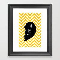 Vey Framed Art Print