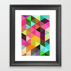 City of lights 01. Framed Art Print