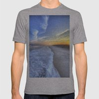 Atlantic Sunset Mens Fitted Tee Athletic Grey SMALL