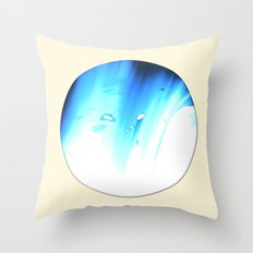 bluemoon Throw Pillow